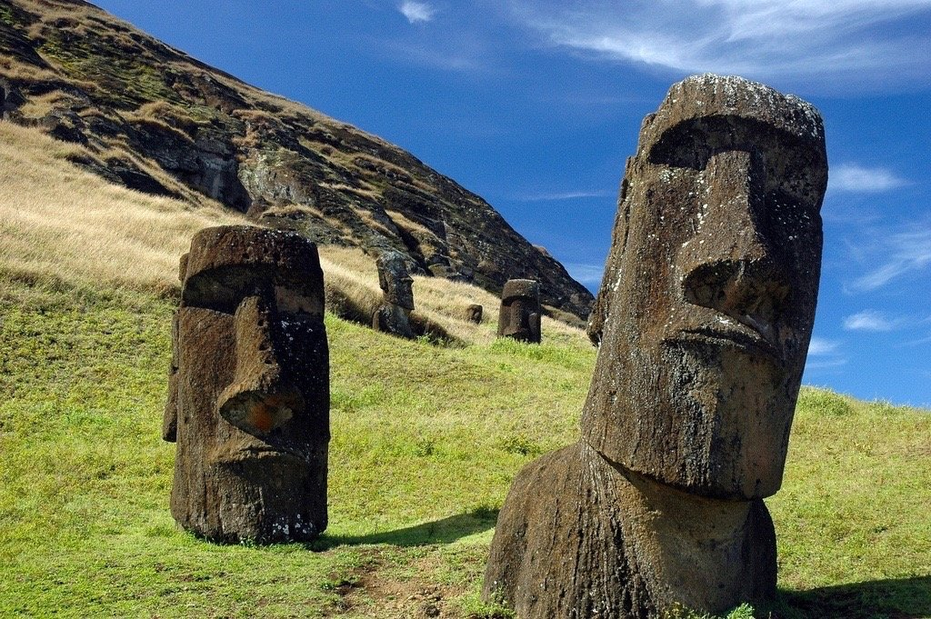 Easter Island not destroyed by war, analysis of 'spear points' shows