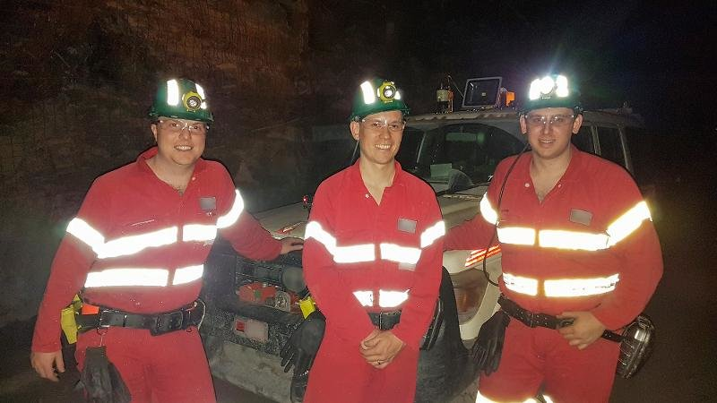 Robotics researchers track autonomous underground mining vehicles