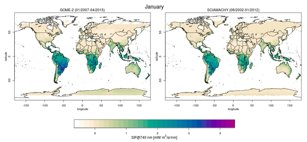Map Photosynthesis At High Resolution - Satellites map