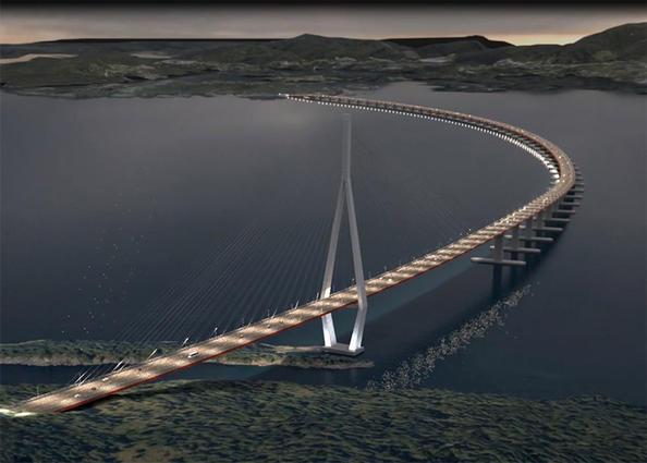securing the world 39 s longest floating bridge against strong wind long room. Black Bedroom Furniture Sets. Home Design Ideas