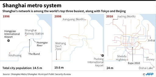 Shanghai Metro Map 2016.Tunnel Visions China Bets Big On Subways As Cities Expand