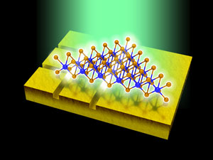 The key to ultrathin high-efficiency sensors and solar cells could be materials covered with tiny trenches