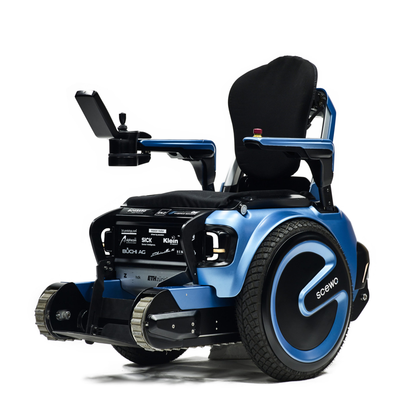wheelchair design can take many steps up