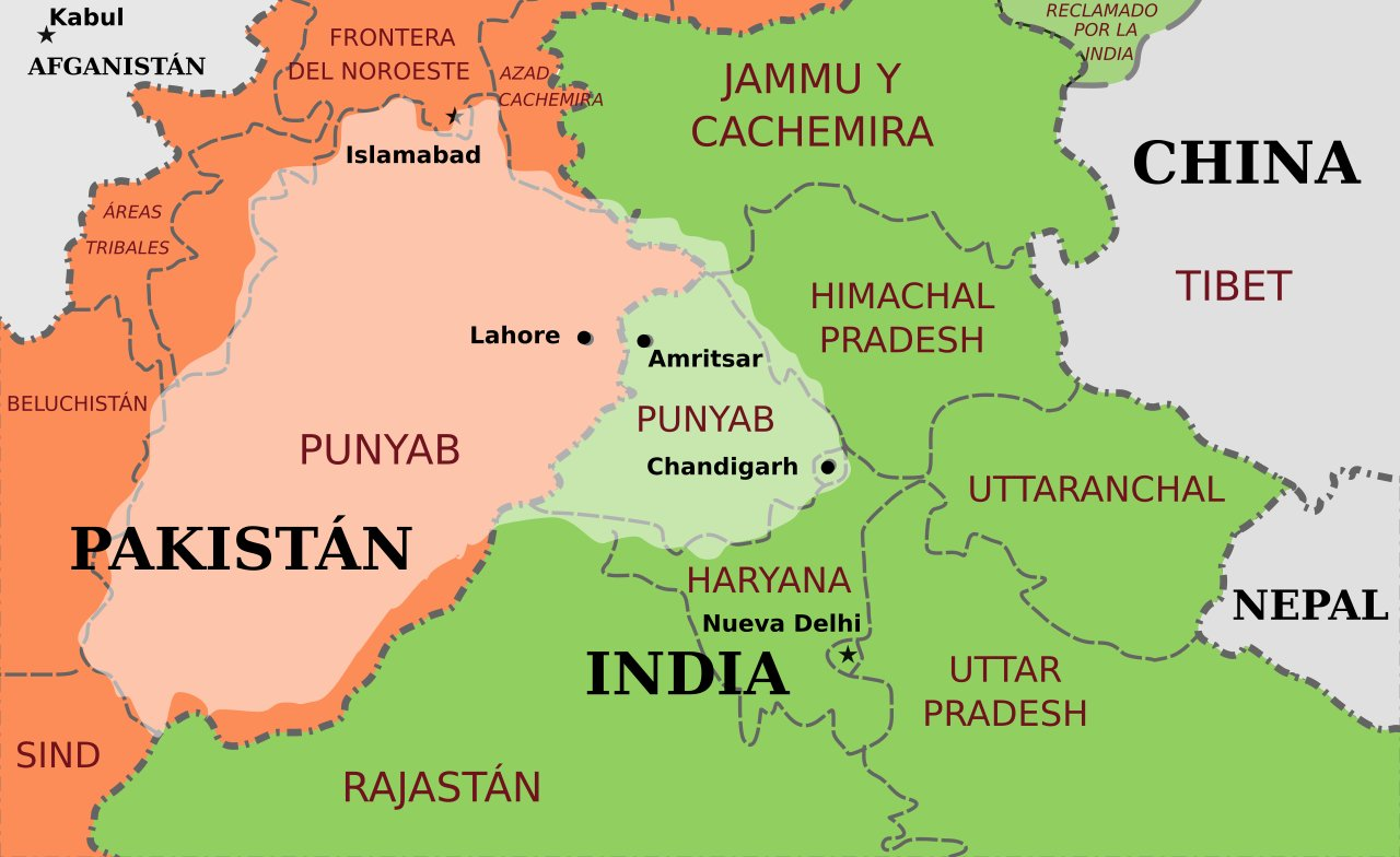 Punjab World Map.Arsenic Contamination Is Common In Punjabi Wells Study Finds