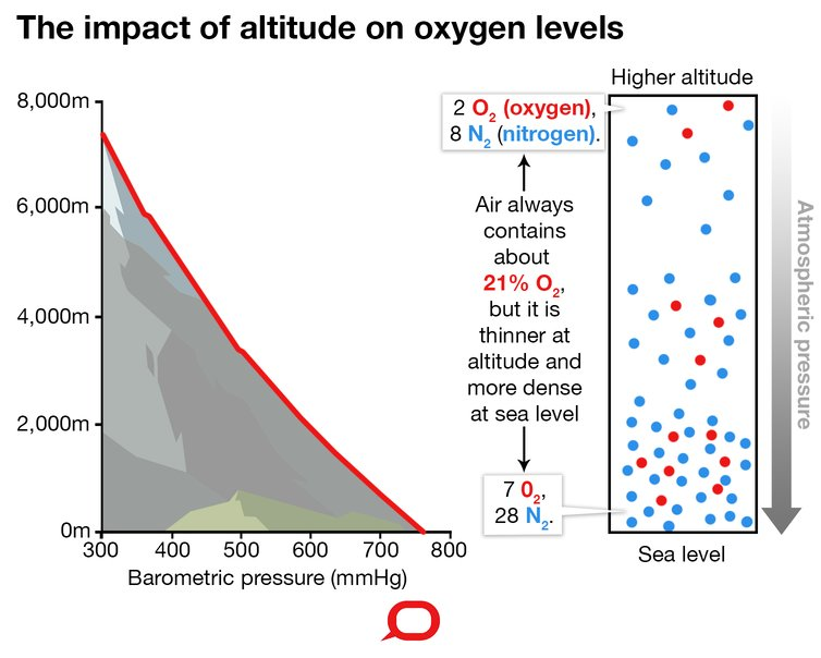 how does altitude affect the body and why does it affect people