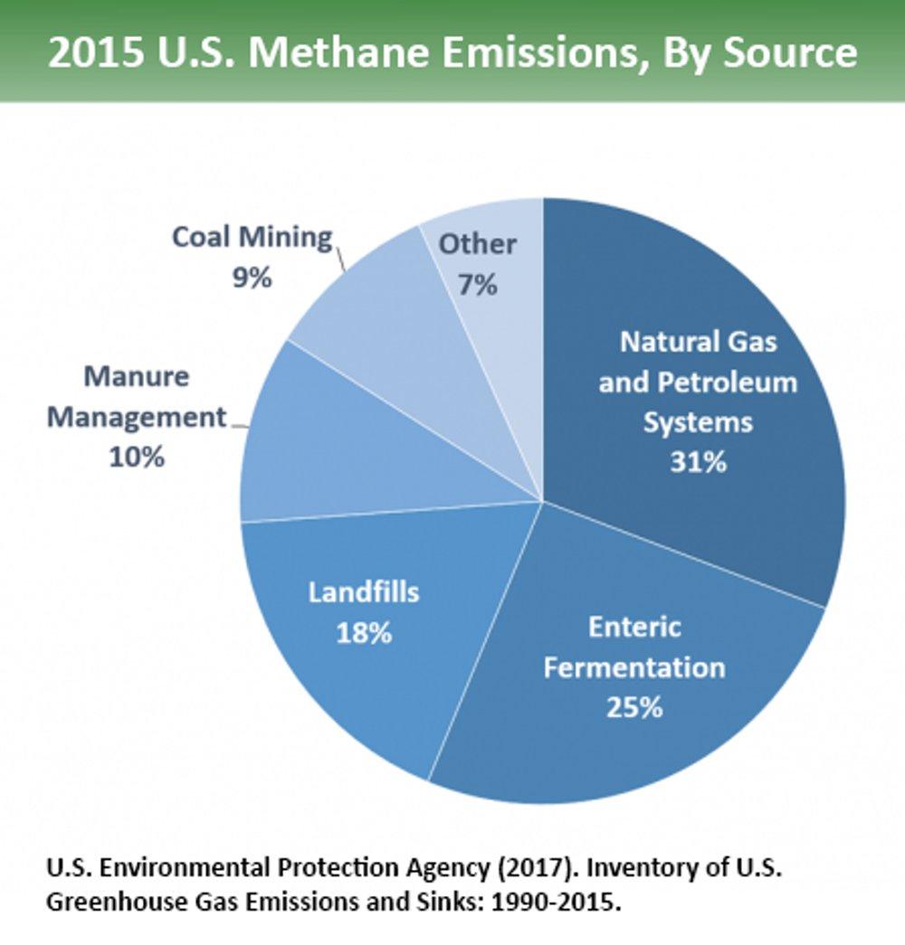 Resultado de imagem para methane emission 2017