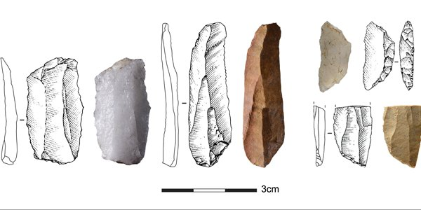 Experts find stone tools connected communities