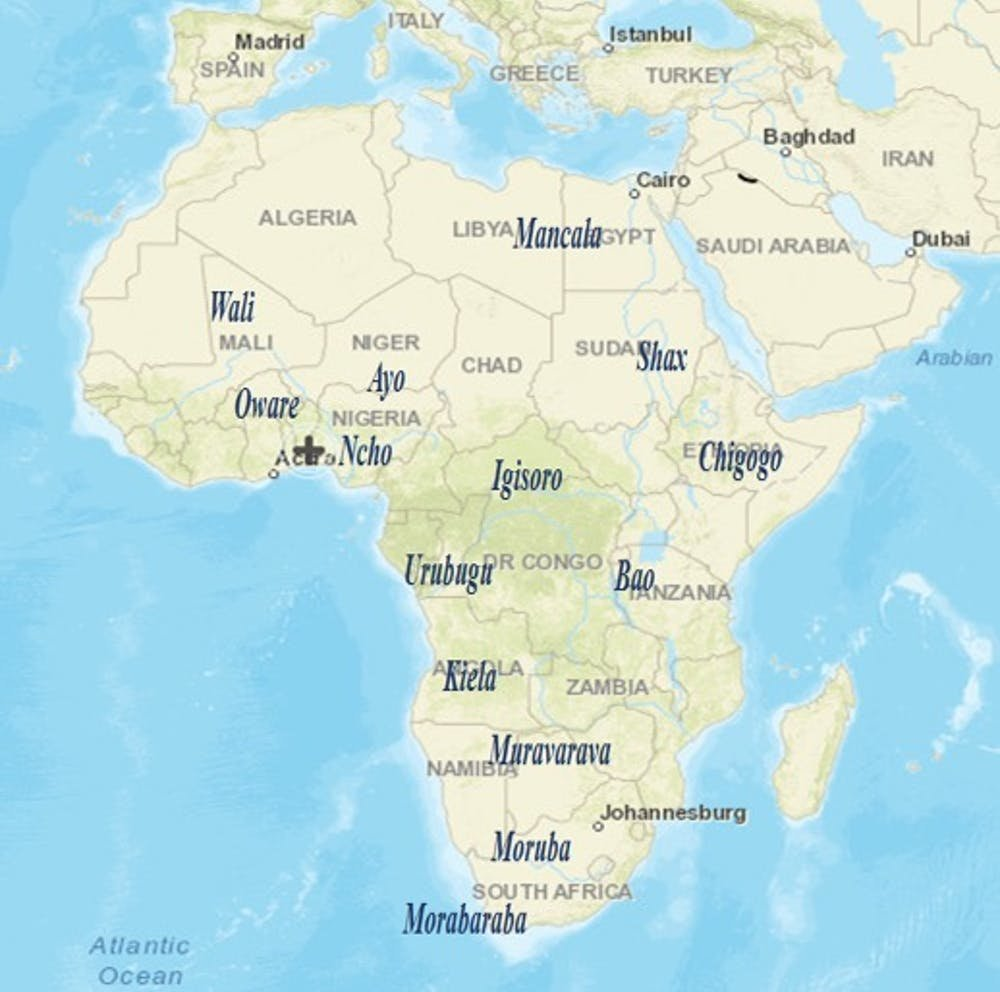 Map Of Africa Games.Why African Board Games Should Be Introduced Into The Classroom