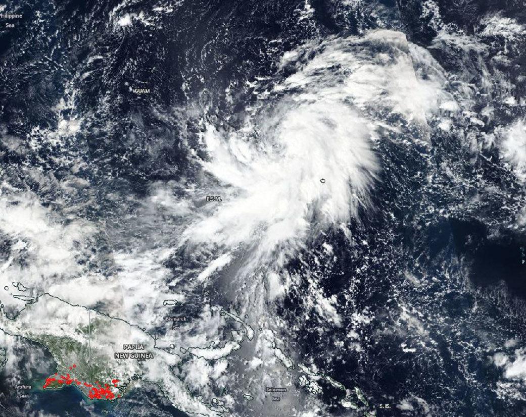 NASA tracks Tropical Storm Yutu, warnings posted