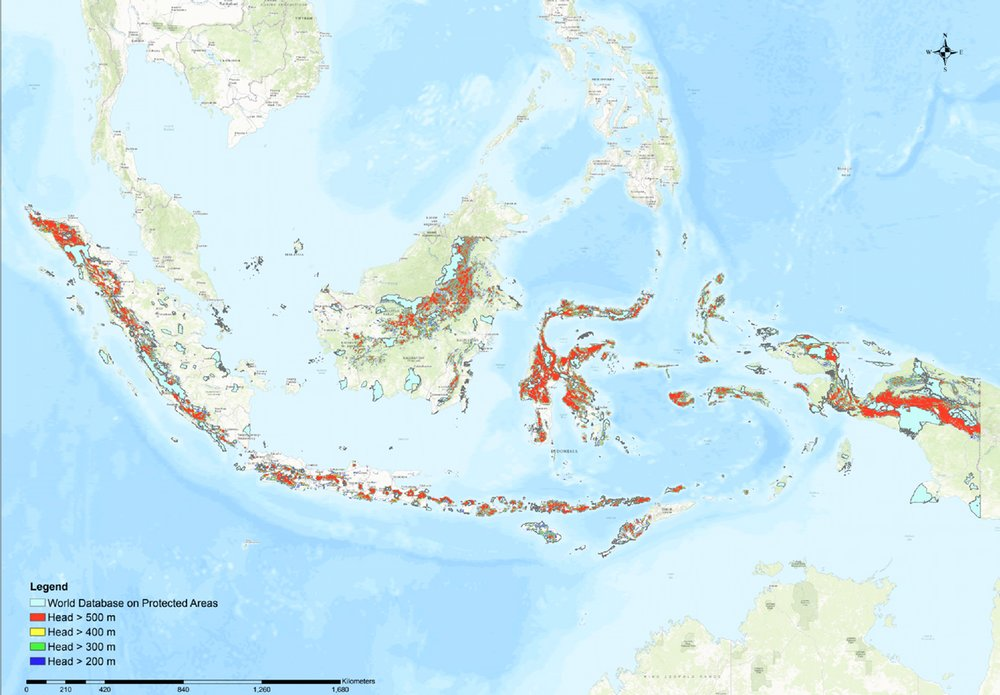 Indonesia Has Far More Than Enough Pumped Hydro Storage