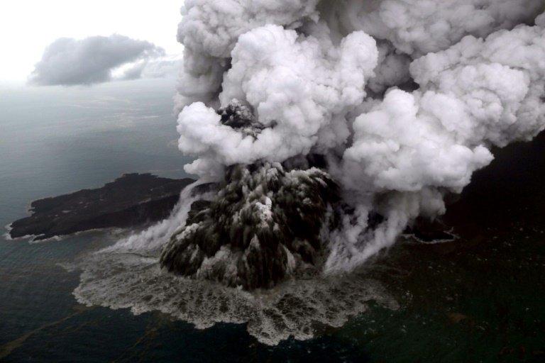 tsunami volcano lost two