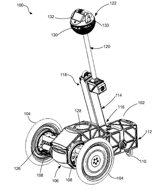 facebook patent is about robot that transitions from three wheeled to Futuristic Cars 5aa0f2b74535b