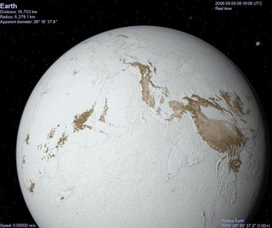 geoscientists suggest  u0026 39 snowball earth u0026 39  resulted from plate