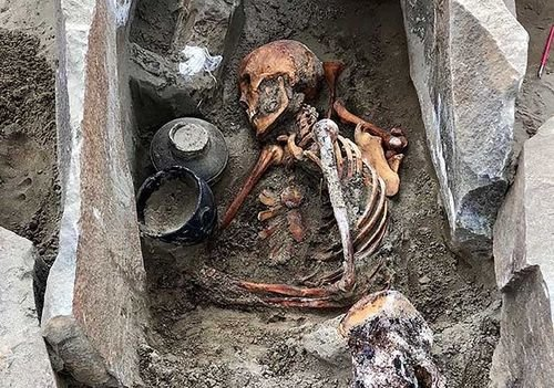 2000 Year Old Mummy Found Near Russian Reservoir