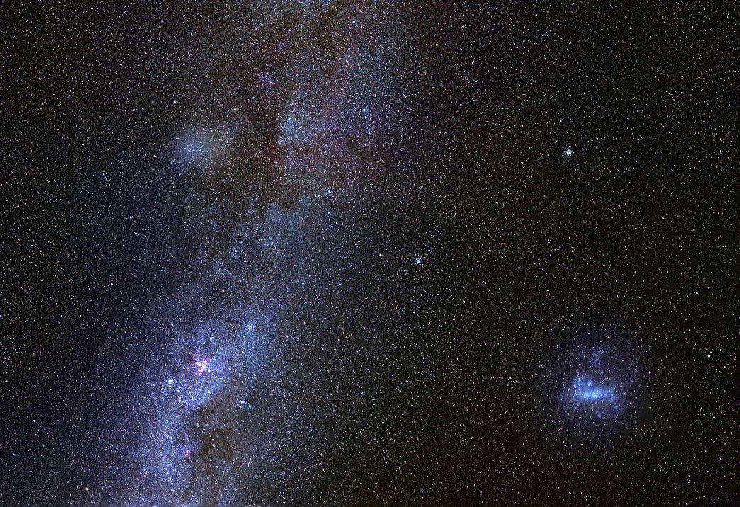 ماهوارهای بزرگ و شبحگون برای کهکشان راه شیری یافته شد
