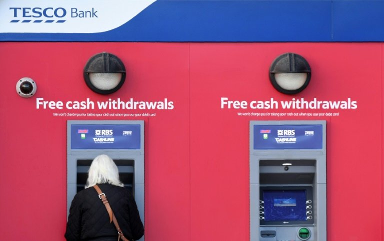Tesco Bank fined by UK regulator over hacking