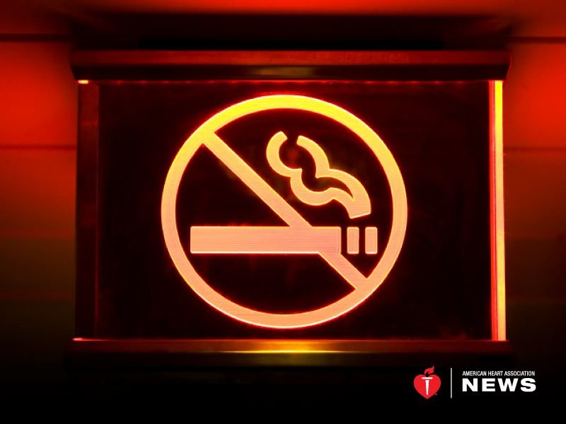 Smoke Free Laws Do Seem To Help Young Adults Hearts
