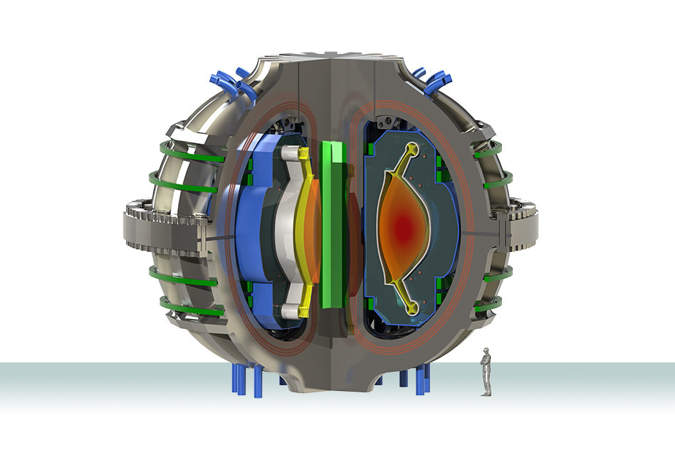 novel design could help shed excess heat in next generation fusion rh phys org Nuclear Fission Reactor Diagram Nuclear Fusion Drawing