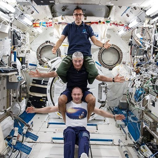 international space station astronauts waiting for their ride home - photo #4