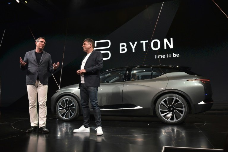 Chinese Electric Carmaker Byton Raises Mn To Take On Tesla - Car show in vegas 2018