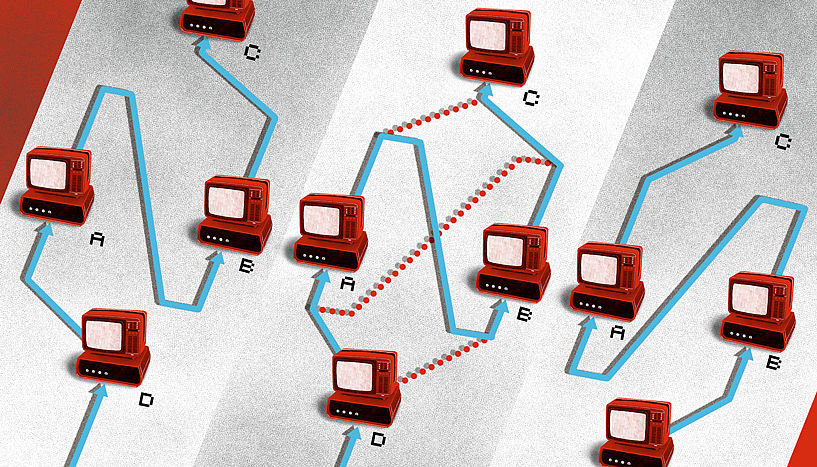 Can the causal order between events change in quantum mechanics?