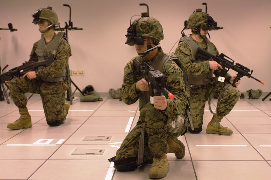 Counter Terrorism Police Are Now Training With Virtual