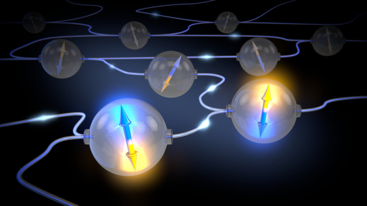 Scientists make first 'on demand' entanglement link