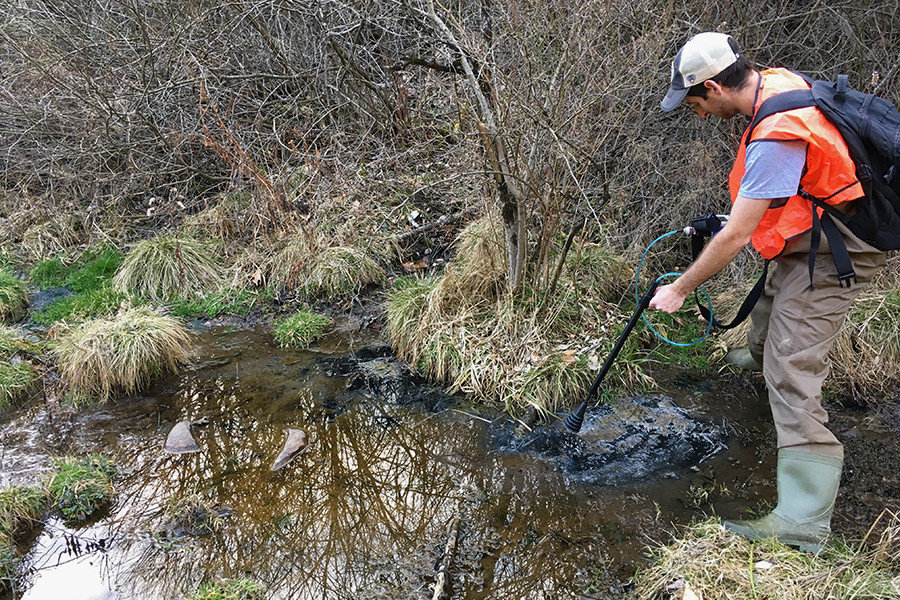 ground and stream water clues reveal shale drilling impacts