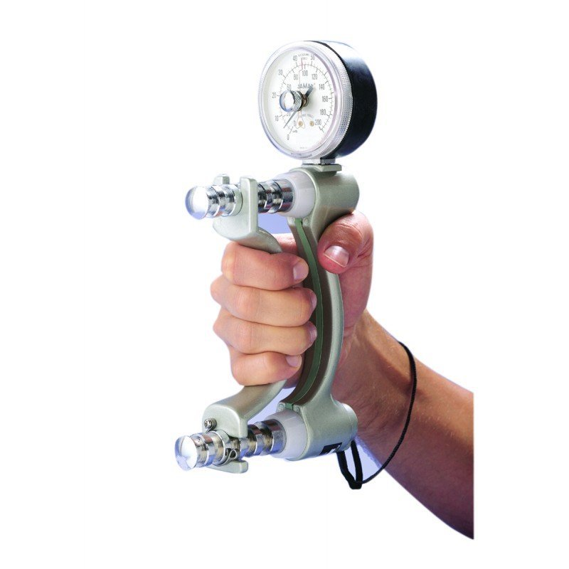 Hand Held Dynamometer For Muscle Strength : Handgrip strength test is good indicator of survival in