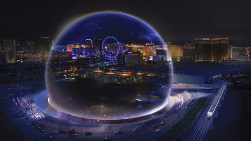 High Tech Sphere Shaped Arena Coming To Las Vegas Strip