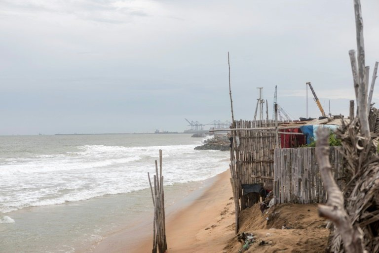 New togo fishing port stokes coastal erosion fears in the beachfront village of agebkope on togos shore houses have been swept into the sea and others teeter on the brink as coastal erosion worsens thecheapjerseys Image collections