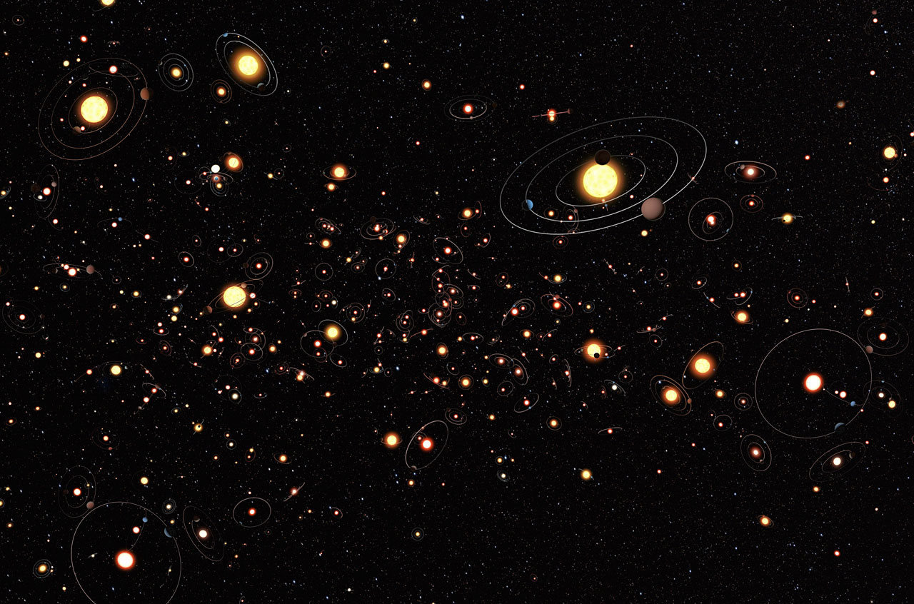 Kepler found traces of alien activity
