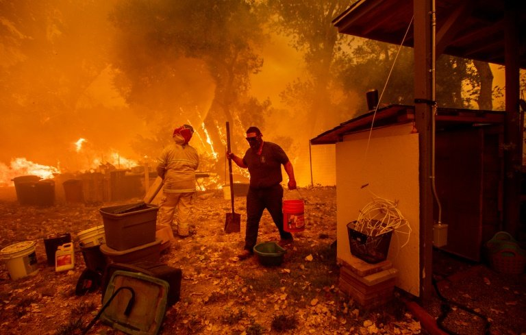 wildfires the size of los angeles may be california s worst