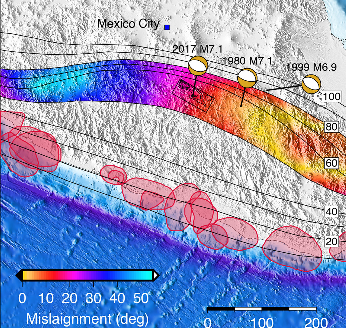 Mexico S 2017 Earthquake Emerged From A Growing Risk Zone