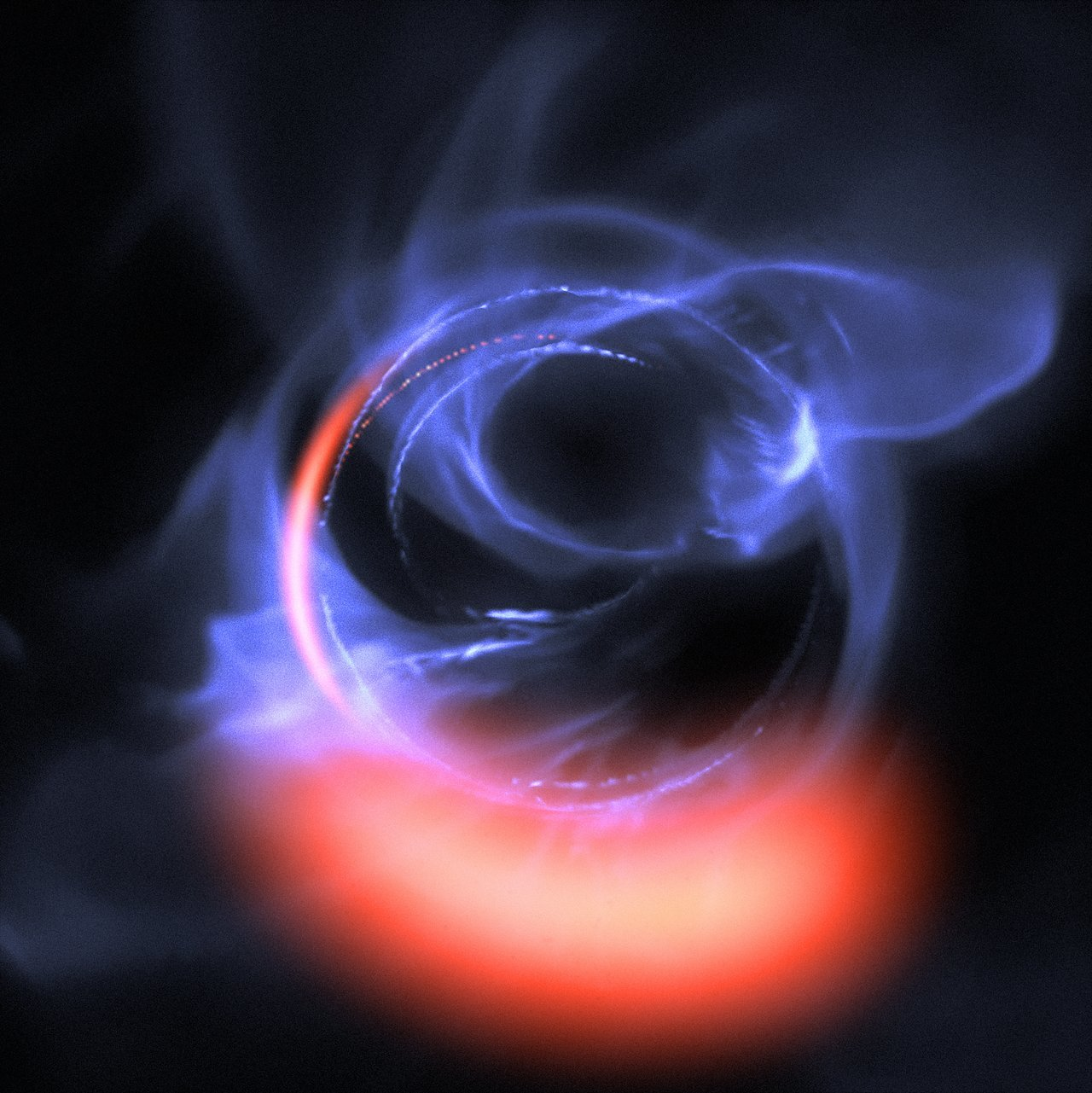 ESO s exquisitely sensitive GRAVITY instrument has added further evidence  to the long-standing assumption that a supermassive black hole lurks in the  centre ... 7a9784f00