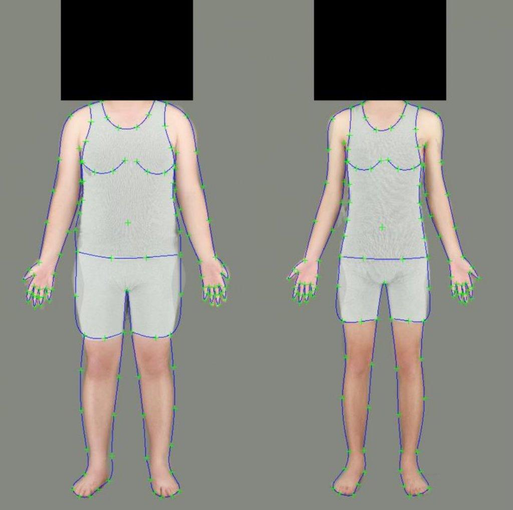 Perceptual pathway linked with body size misperception ...
