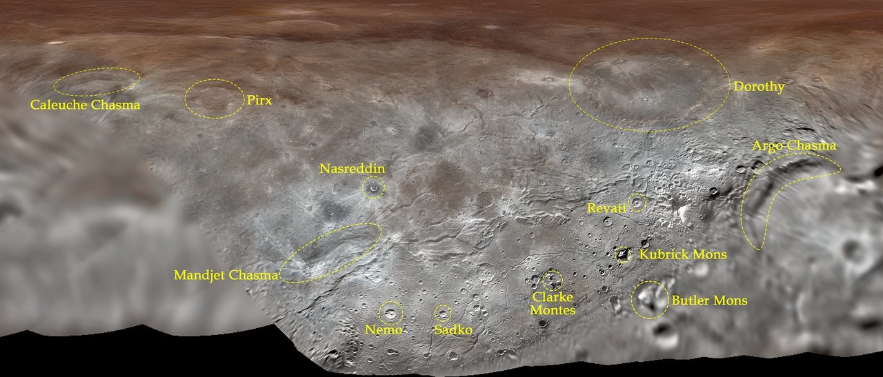 Charon Moon: Pluto's Largest Moon, Charon, Gets Its First Official