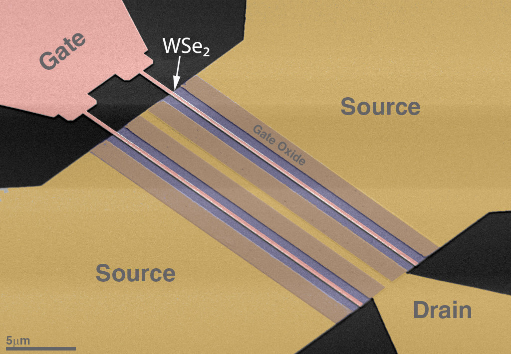 photo image Scalable two-dimensional materials advance future-gen electronics