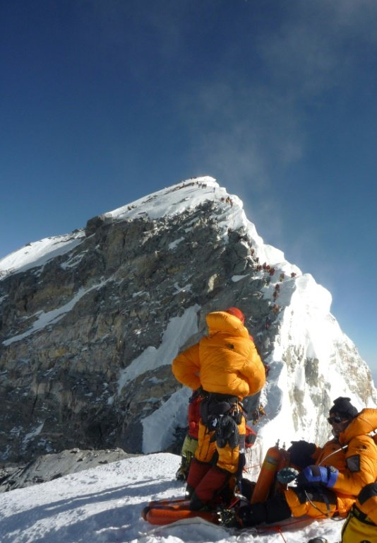Everest's Hillary Step now a 'slope': climbers