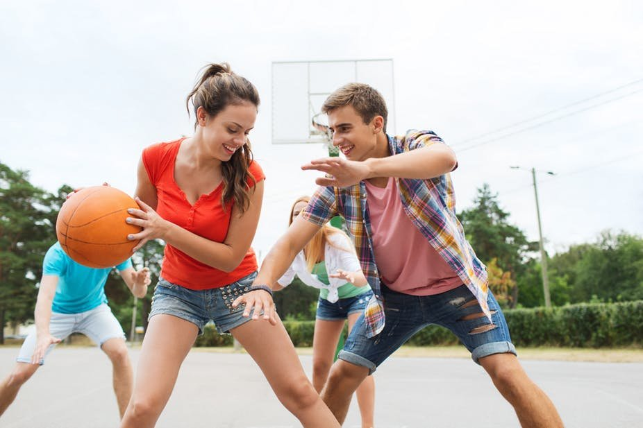 six ways to get teenagers more active suggested by the teens themselves. Black Bedroom Furniture Sets. Home Design Ideas