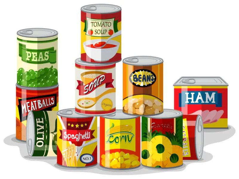 Some uncanny facts about canned foods