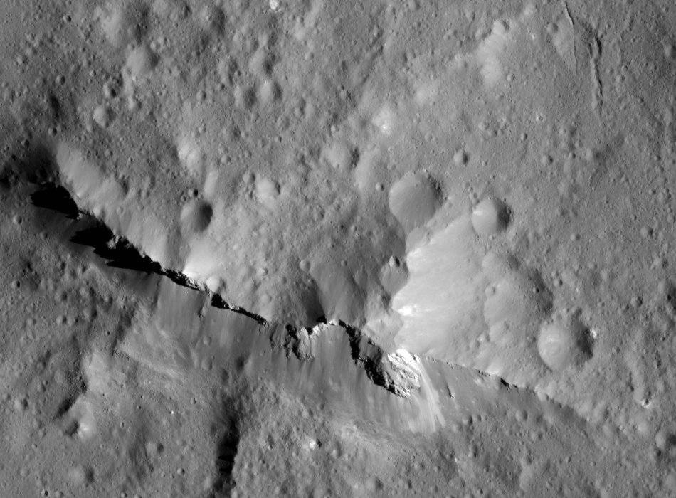 Image result for Evidence for carbon-rich surface on Ceres