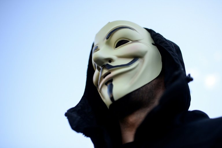 The Anonymous Hackers Collective Has Adopted Guy Fawkes Mask As Its Symbol