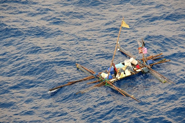 five men and the sea  huge marlin sinks filipino fishing boat