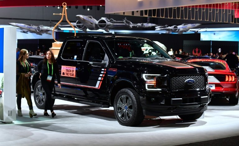 Pickups SUVs In Spotlight At Detroit Auto Show - Ford show car