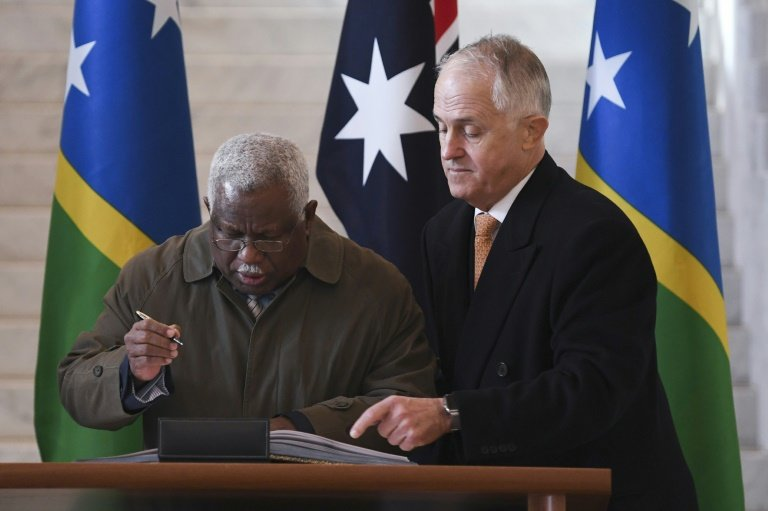 China And The Solomon Islands Aid