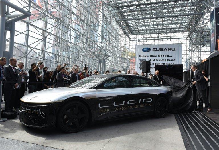 Saudi Arabia invests $1bn in Tesla competitor Lucid