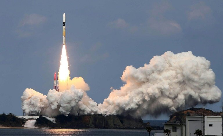 Image result for Japanese Space Probe drops two small rovers to an asteroid