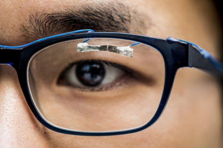 photo image Tissue paper sensors show promise for health care, entertainment, robotics