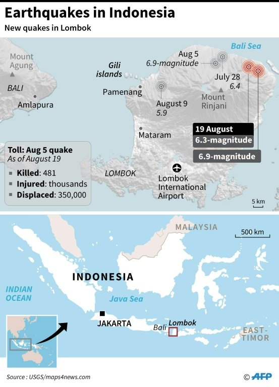 Why multiple earthquakes are rattling one Indonesian island